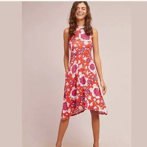 Anthropologie Cleary Mock Neck Dress by Maeve SM